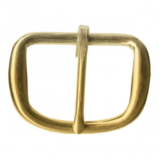 Buckle 1.5 Heel Bar Brass