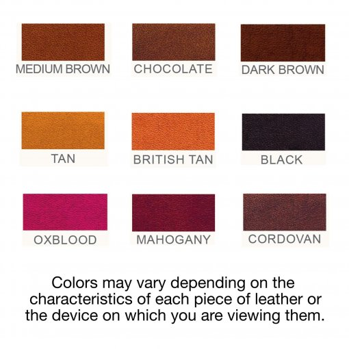 Color Chart 510x510 - Laredo Wristband