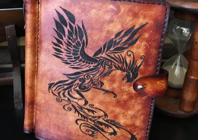 The Phoenix Handcrafted Leather Field Journal