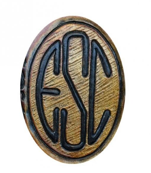 Hand Carved Monogram