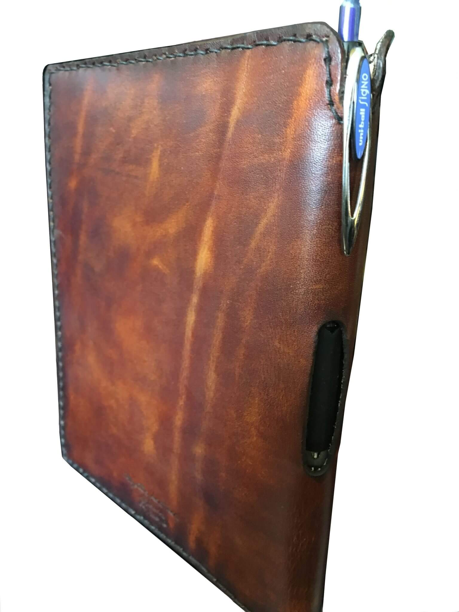 Journal with Pen Holder in Spine Spine View