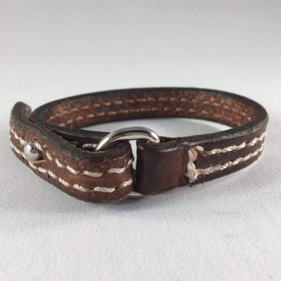 Loredo Wristband Front 400x400 - Mystic Leather | Custom Handcrafted Leather Goods