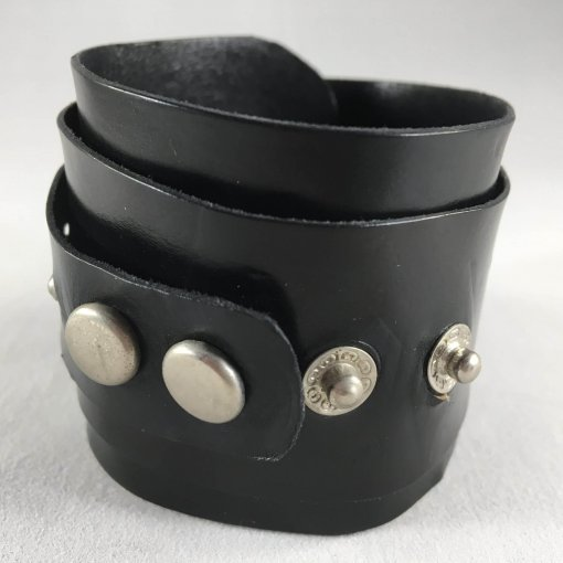 Vortex Black Studded Cuff Side 1