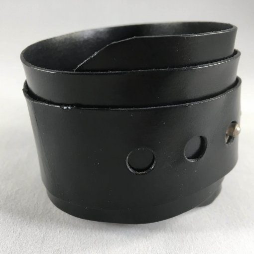 Vortex Black Studded Cuff Side 2 510x510 - Vortex Studded Cuff